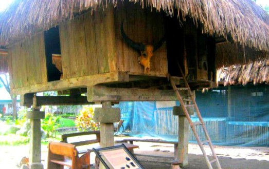Typical Igorot hut